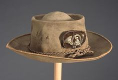 A native of New Hanover County and a veteran of the Mexican War Colonel Gaston Mears wore this elaborate hat while commander of the Third Regiment North Carolina State Troops. Mears was killed by artillery fire at the Battle of Malvern Hill outside Richmond, Virginia on July 1, 1862 while surveying Union positions. The bugle on front represents the infantry branch of service and the number three is the regimental number.  ~ NC Museum of History