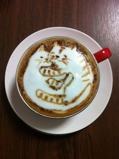 Incredible Cat Latte Art From Japan - Cappuccino giapponese con gattini!
