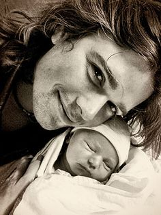 Zac Hanson and new baby