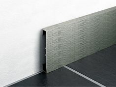 Aluminium Skirting Board With Wood Effect METAL LINE By PROFILPAS BoardsDesign ProductsInterior
