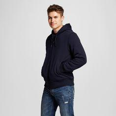 Men's Sherpa Fleece Jacket Navy Xxl - Mossimo Supply Co., Night Sky