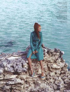 Cintia Dicker for Fashion Canada.