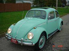 1966 Volkswagen Beetle SUN ROOF 1300