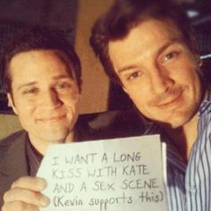 Nathan and Seamus - Castle Photo-LOL