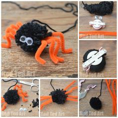 So the great pom pom love continues. Earlier in the week, we made some hedgehog pom poms, today we share with you this adorable little Pom Pom Spider. I love it on so many levels – one it is a pom pom (already a winner), two it makes for a super cute Halloween craft (no …