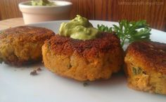 Salmon (or Crab) Cakes with Cilantro Lime Avocado Remoulade - Paleo AIP-friendly #paleo #AIP #autoimmuneprotocol