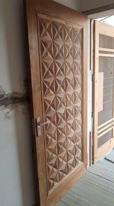 Best main door design entrance cnc Ideas - Lilly is Love Wooden Front Door Design, Double Door Design, Wood Front Doors, Wooden Doors, Room Door Design, Door Design Interior, Single Main Door Designs, Modern Entrance Door, Main Entrance Door Design
