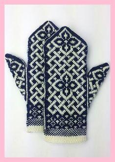 Neuen : Gratis breipatroon -: Manicmaiden & # s Celtic Carol, Knitted Mittens Pattern, Knit Mittens, Knitted Gloves, Knitting Socks, Free Knitting, Knitting Designs, Knitting Projects, Knitting Patterns, Celtic Patterns