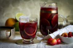 Ruby Red Cherry-Citrus Sangria via @Aida Mollenkamp // Pairs Well With Food