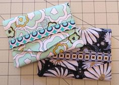 Receipt Pouch - Free Sewing Pattern