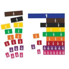 Fraction Tiles: Set of 51