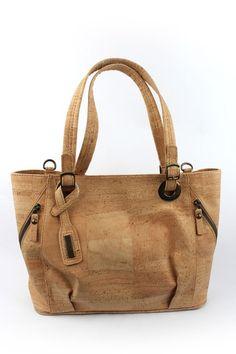 Natural Cork handbag - Shoulder Bag  Authentic Portuguese Purse #Handmade #ShoulderBag