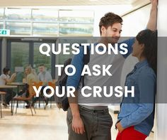 Great conversation questions to ask a crush! Questions To Ask Crush, Deep Questions To Ask, Questions To Ask Your Boyfriend, What If Questions, Couple Questions, Crush Conversation Starters, Deep Conversation Topics, Conversation Questions, Asking Someone Out