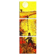 Under The Big Sun Canvas Printings For Room Wall Picture Tableau Peinture Sur Toile With Frame