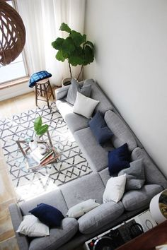 New home 38 What the Experts Are Saying About Living Room Color Scheme Ideas Grey Blue and How It Af Blue Living Room Decor, Coastal Living Rooms, Living Room Color Schemes, Home Living Room, Apartment Living, Living Room Designs, Cozy Living, Living Room Ideas Grey And Blue, Small Living