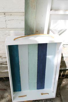 DIY Nautical Tray - City Farmhouse