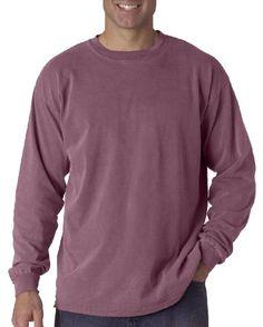 Chouinard T Shirt 6014 Basic Unisex Cotton Long-Sleeve Tee 2XL Purple Comfort Colors http://www.amazon.com/dp/B00FWTTK64/ref=cm_sw_r_pi_dp_Woh4vb1HHYBQZ