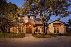 Just a beautiful mediterranean home plan, the exterior building materials, the layout...just a wonderful family space!