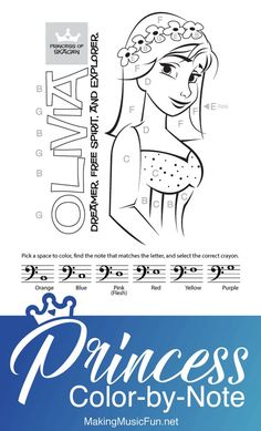 Make learning note names and rhythms fun with this set of six professionally designed princess-themed color-by-note and color-by-rhythm music theory worksheets. Music Theory Games, Music Theory Worksheets, Music Flashcards, Student Incentives, Piano Lessons For Kids, Music For Kids, Elementary Music, Teaching Music, Worksheets For Kids
