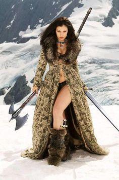 warrior princess...