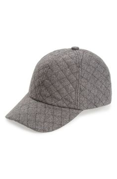Definitely needing this quilted ball cap.