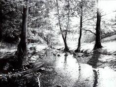Forest creek by KittyAlea on DeviantArt