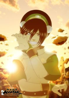 A:TLA: Toph Bei Fong by mongrelssister.deviantart.com my favorite character...maybe of all time.