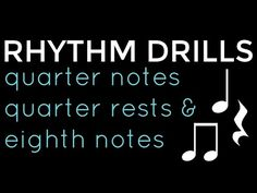 Rhythm Clap Along: Level 2 ~ Quarter Notes, Quarter Rests & Eighth Notes - YouTube