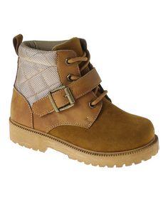 Look at this #zulilyfind! Tan Buckle Boot #zulilyfinds