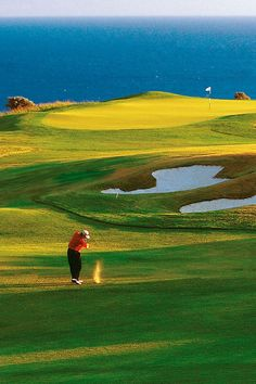 Golf Course in Pissouri, Cyprus #cyprus #golf #linkscourse