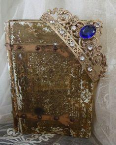 Santos Crown, France (late 19th c.; silver-gilt, paste gemstones).