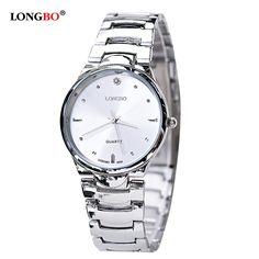 LONGBO Brand Men Women Brief Casual Quartz Crystal Wrist Watches Luxury Brand Quartz Watch Relogio Feminino Montre Femme 9203 #Affiliate