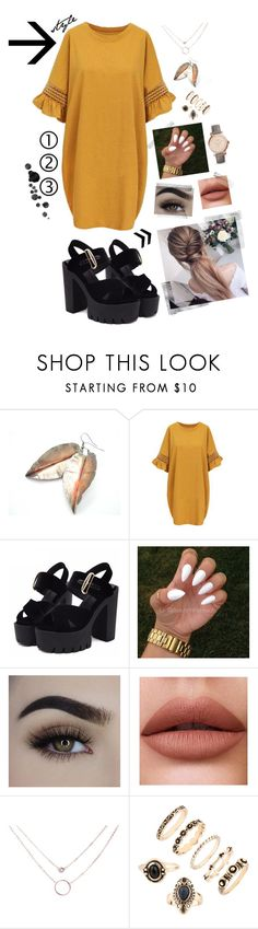 """""""My style 2"""" by fashionblogbydani ❤ liked on Polyvore featuring WithChic and FOSSIL"""