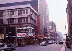 Montreal - 1964 - Corners of St. Catherine and Peel Street