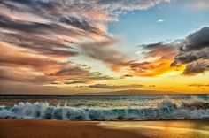 Big Beach, Maui, After Sunset by philhaber, via Flickr
