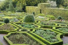 The herb garden at Ballymaloe Cookery School, Co. Cork, Ireland.  I would love to take classes here.