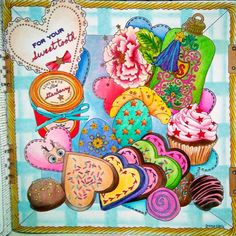 a balance diet is having a cupcake in each hand.... #adultcoloringbook…