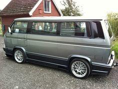 Ein VW T3 mit einem Chevy-V8? Der stärkste Bulli der Welt!