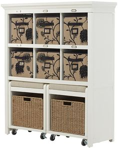 Home Decorators Collection Morgan Storage Cabinet with Pull Out Seating, D, White Garage Shoe Storage, Entryway Storage, Seat Storage, Living Room Storage, Cube Storage, Storage Shelves, Storage Ideas, Shelving, Storage Cabinet With Baskets