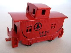 LS&S Red Train 4348 Pencil Sharpener Diecast Metal Desktop Wheels Turn Cute #LSS #TrainPencilSharpener