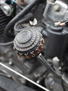 Now that is cool a Leather shifter....