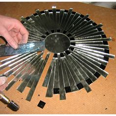 Mosaic mirror  craftycorner.co.za