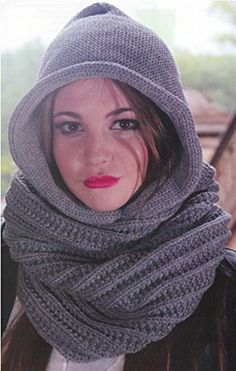 Angela William Uni Handmade Warm Hooded Scarf And Poncho Pullover White At Women S Clothing