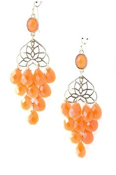 Orange Jewel Drops