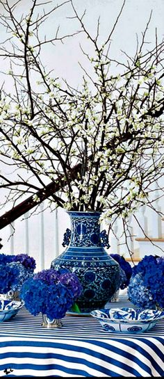 Blue & white home and interior design | The House of Beccaria#