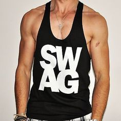 Mens swag gym vest #bodybuilding muscle #clothing #racerback stringer ladies ibiz,  View more on the LINK: http://www.zeppy.io/product/gb/2/321113099416/