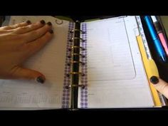 Using A Franklin Covey Classic As A Dedicated Work Planner