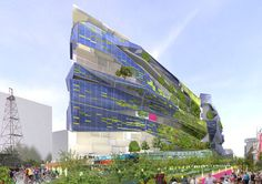 To make Dallas a greener city- one of the entries to the Vision Dallas design competition. by XERO project