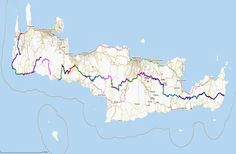 Here's a hiking itinerary that will allow you to explore all of Crete island in 28 days.