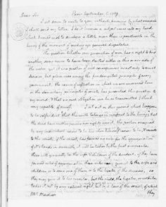"""In 1789, Jefferson wrote to James Madison 'that the earth belongs in usufruct to the living'. . . .""""   """"Usufruct"""" means the right to use something (property, land, etc.) without its destruction or waste. Jefferson saw the earth as a common and intergenerational right. Learn more about Jefferson, sustainability, and Monticello's new geothermal system on our blog."""